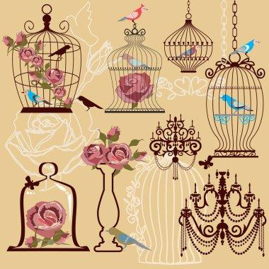 Shabby decoratibe set