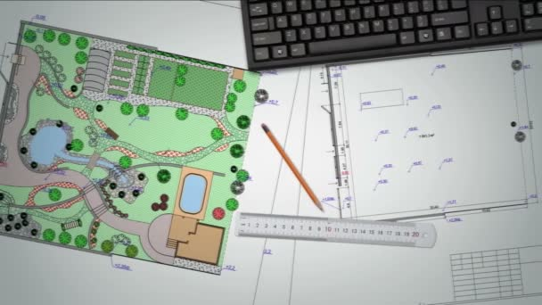 Plán zahradní půdy