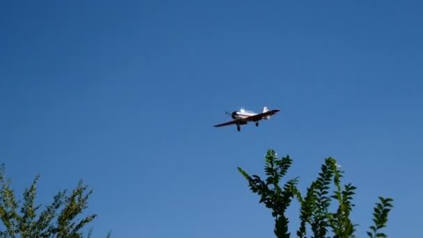 Landing sports plane