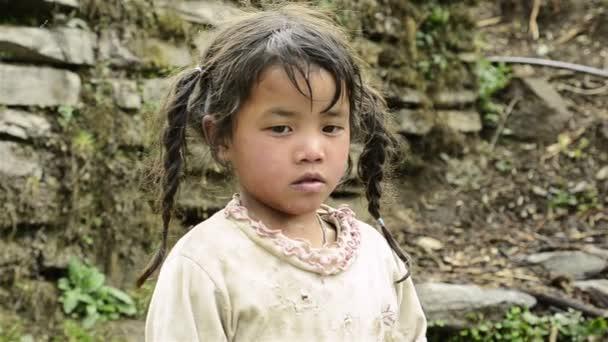 Nepálský dívka