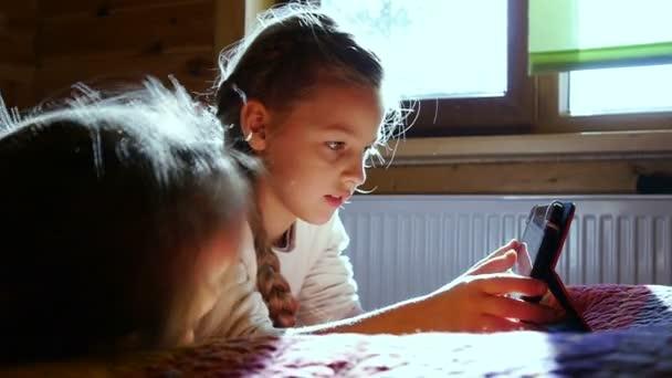 Gyerekek látszó-on számítógép