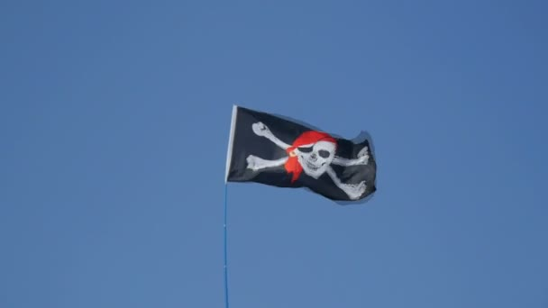 bandiera pirata, isolato