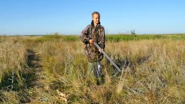 Lány vadászpuska