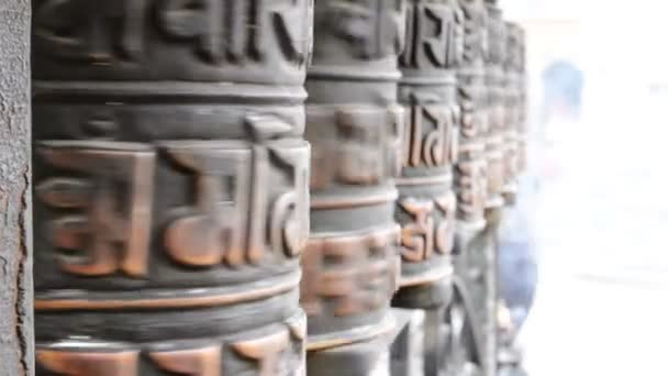 modlitební mlýnky v Nepálu
