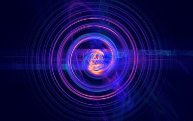 Perturbation of the atomic nucleus and elementary particles in an unstable state in the form of a raging fireball scrolling spiral