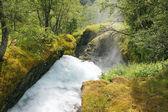 drsné řeky mezi kameny
