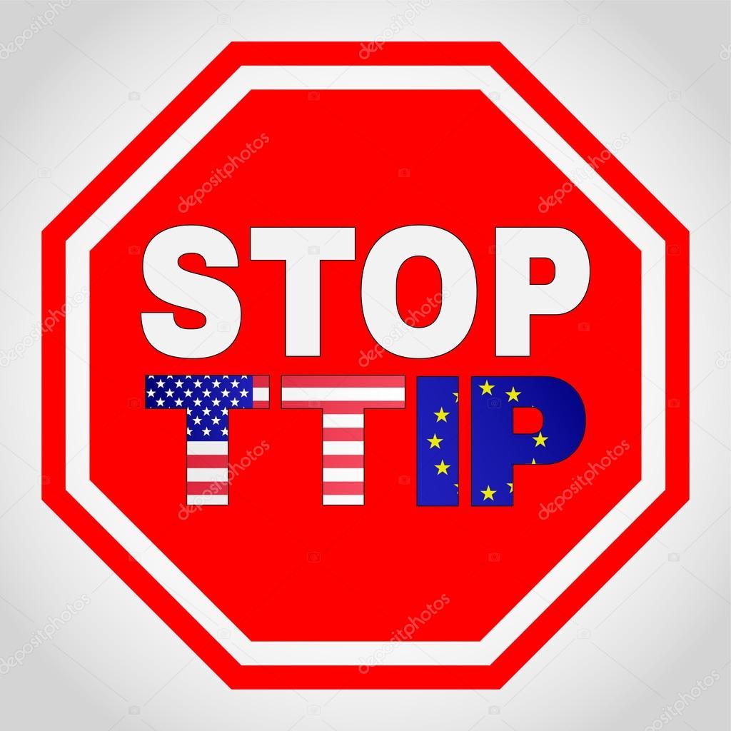 Stop Ttip Transatlantic Trade And Investment Partnership Stock