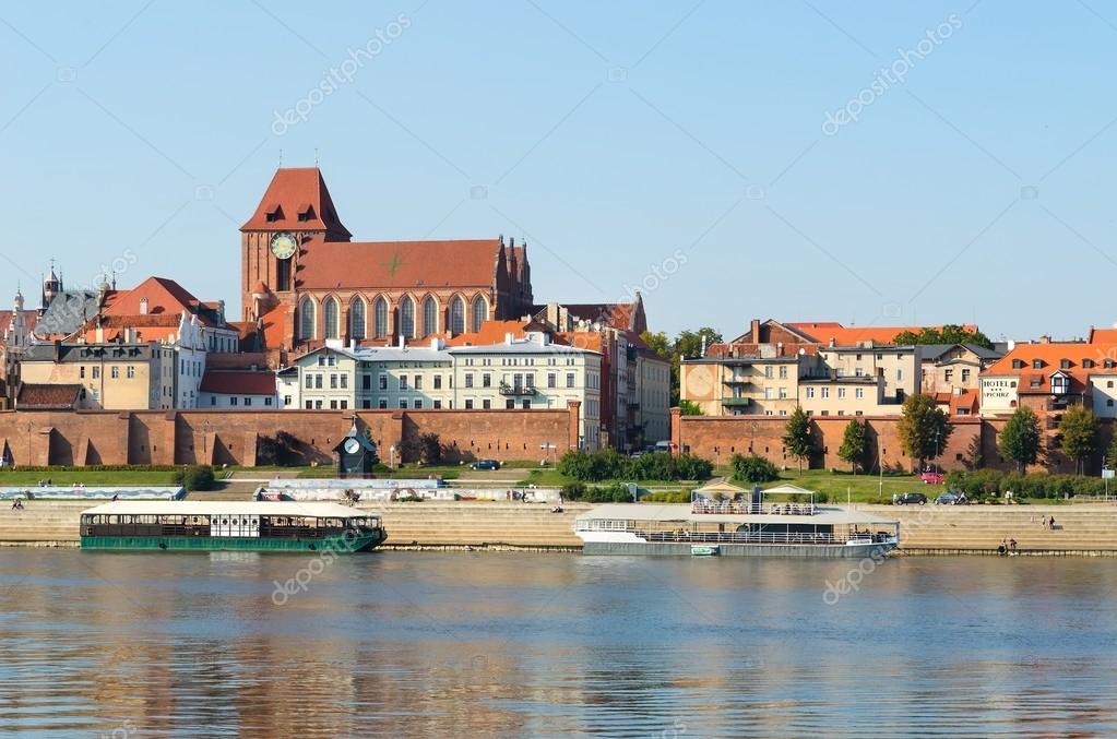 トルン、ポーランドの古い町 - ...