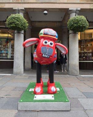 Aardmen's Shaun the Sheep Characters on display around London