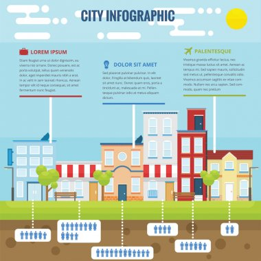 Summer City Infographic