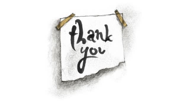 Poděkování a šváb na zeď