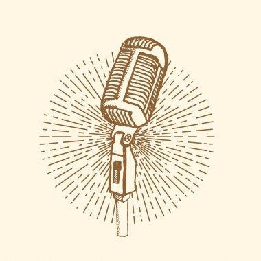 Microphone Vintage style