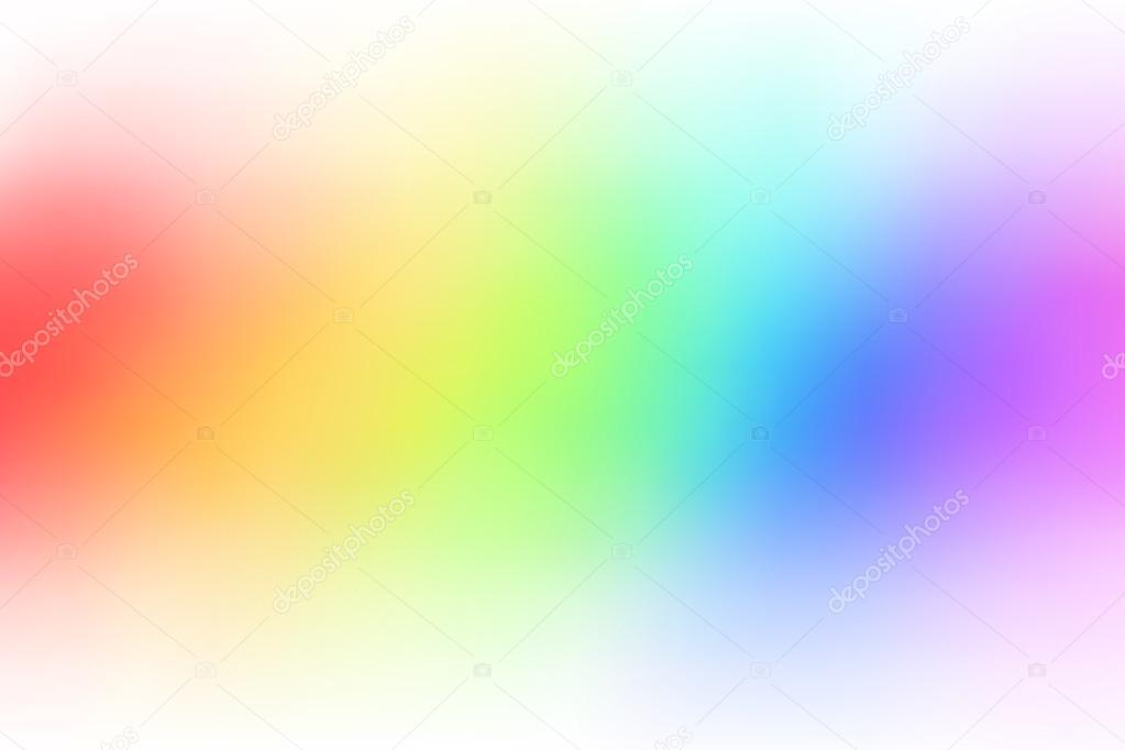 抽象的な虹背景グラデーションぼかしイラスト ストックベクター