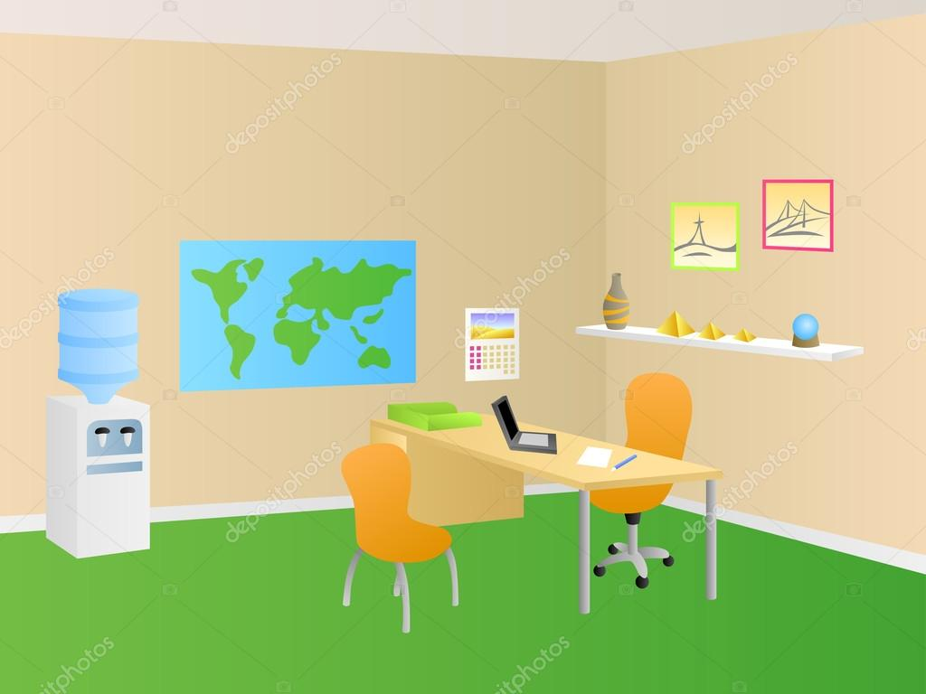 Travel Agency Office Decoration Travel Agency Office Room