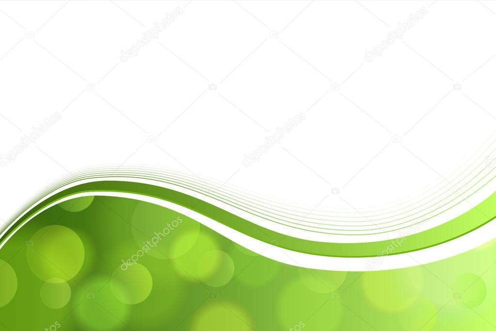 Fondo Abstracto Verde Blanco