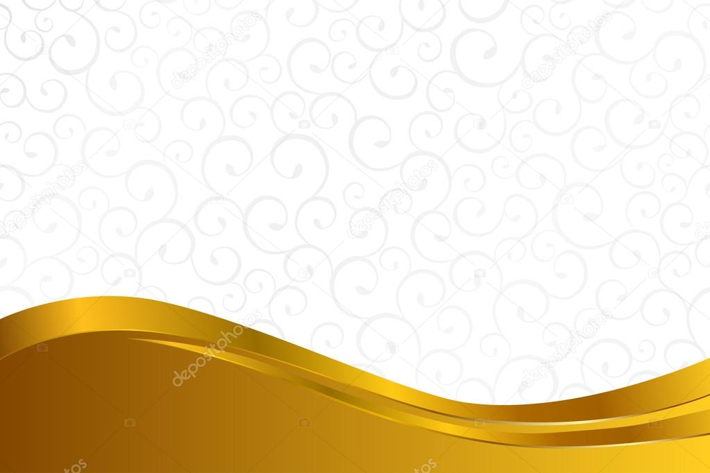 background pattern white grey with gold lines vector