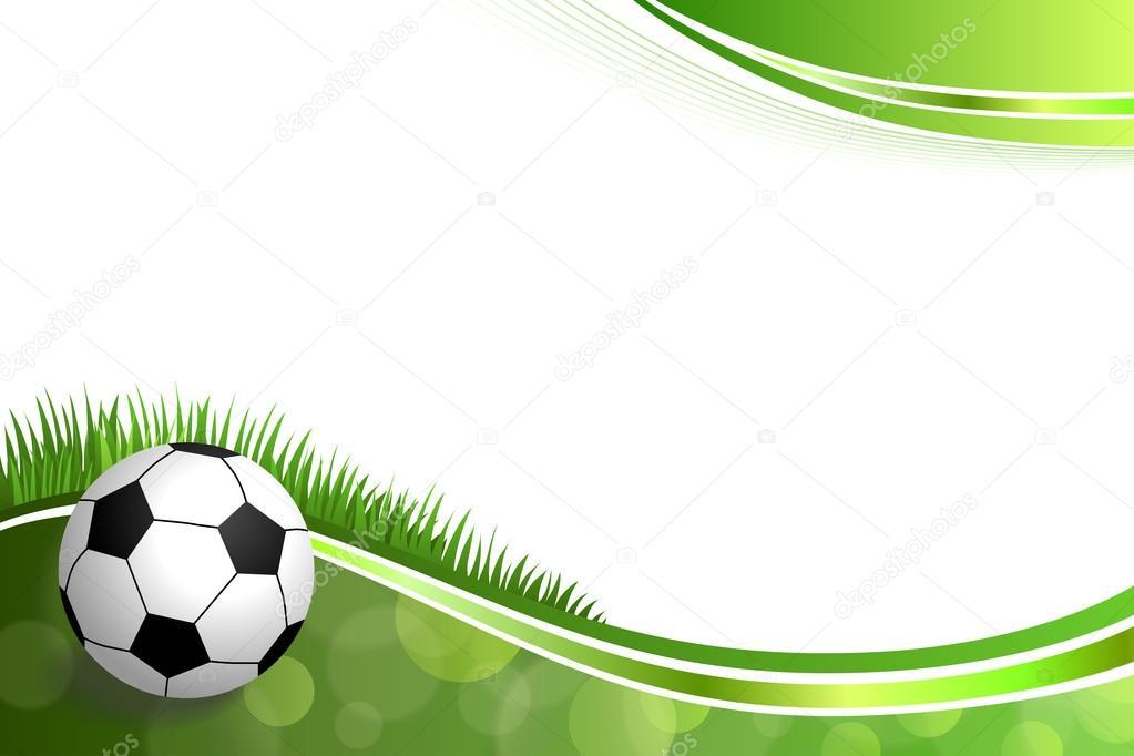 Fondos De Pantalla Fútbol Pelota Silueta Deporte: Vector De Ilustración De Fondo Abstracto Verde Fútbol