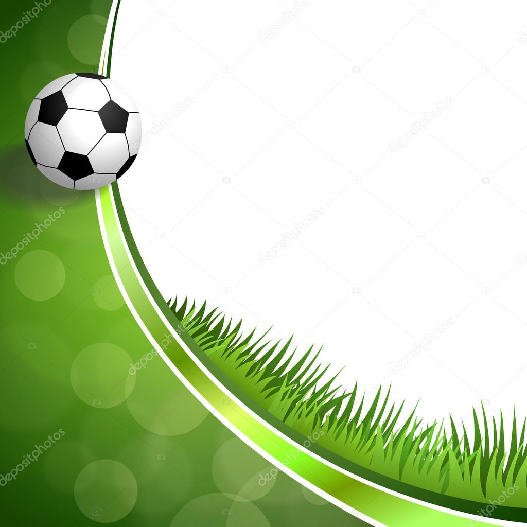 Vector de ilustraci n de fondo abstracto verde f tbol for Fotos de futbol para fondo de pantalla
