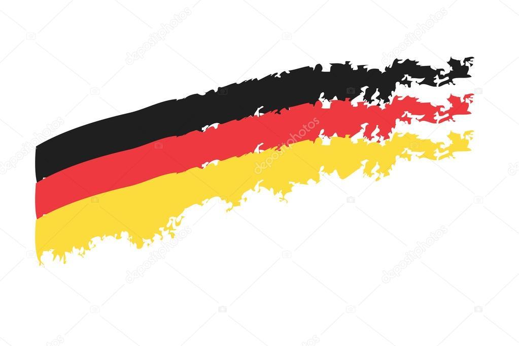Almanya Ulusal Bayrak Stok Foto Helmut1979 75564837
