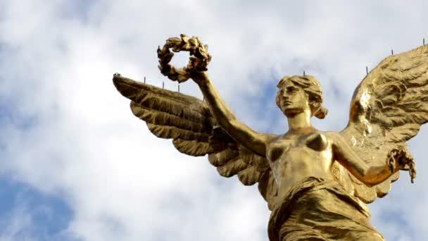TimeLapse közepes lövés, úgynevezett Angel de la Independencia emlékmű.