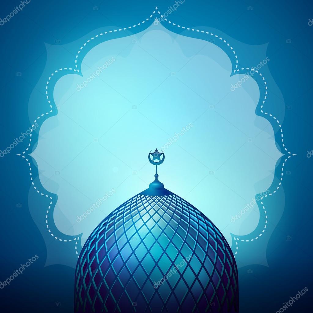 Islamic Design Banner Background Template Stock Vector C Oktora