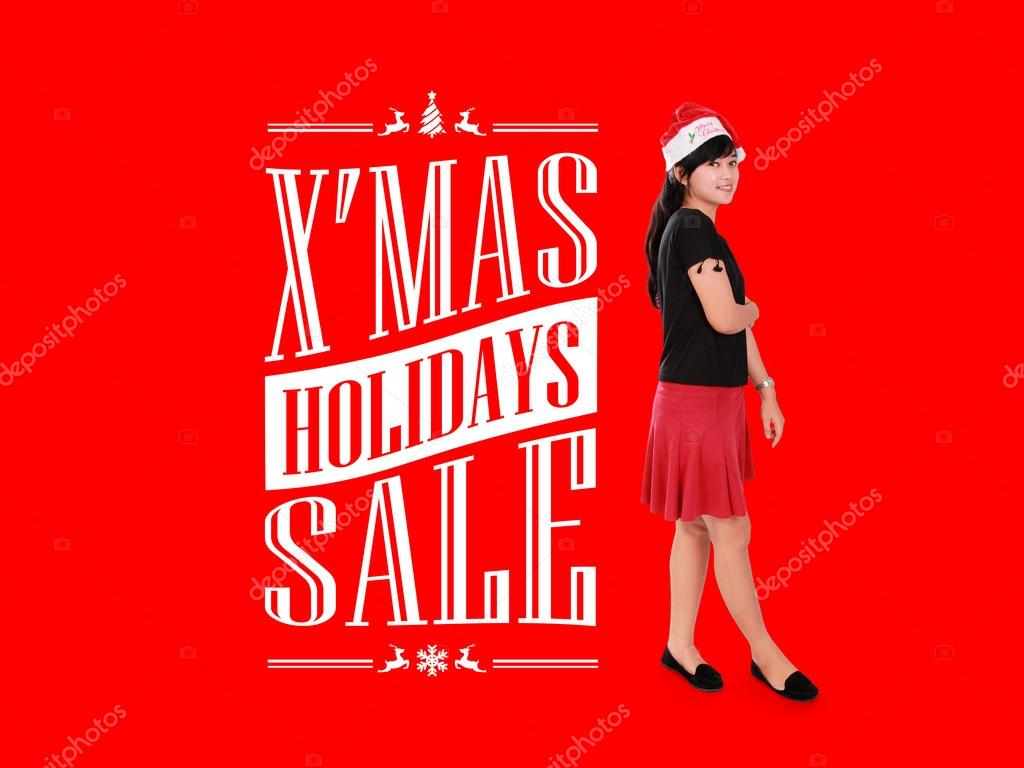 X Mas Holiday Sale Ad Illustration Stock Photo C Pepscostudio 89244654