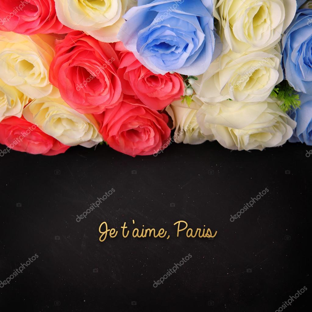 Je T Aime Paris Stock Photo C Pepscostudio 91965820