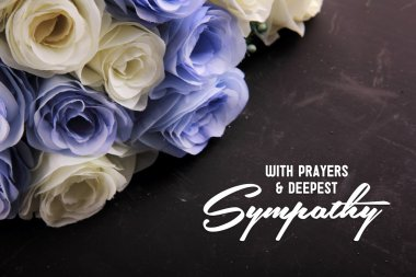 With Prayers & Deepest Sympathy