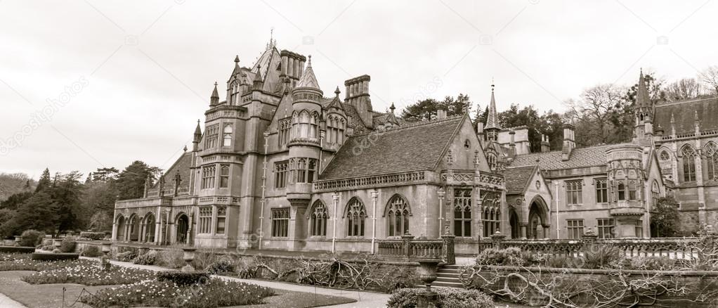 Tyntesfield Victorian Gothic Revival House And Estate Near Wraxall Stock Photo