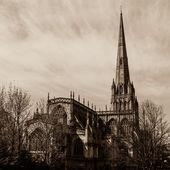 St Mary Redcliffe Bristol, gotická architektura kostela