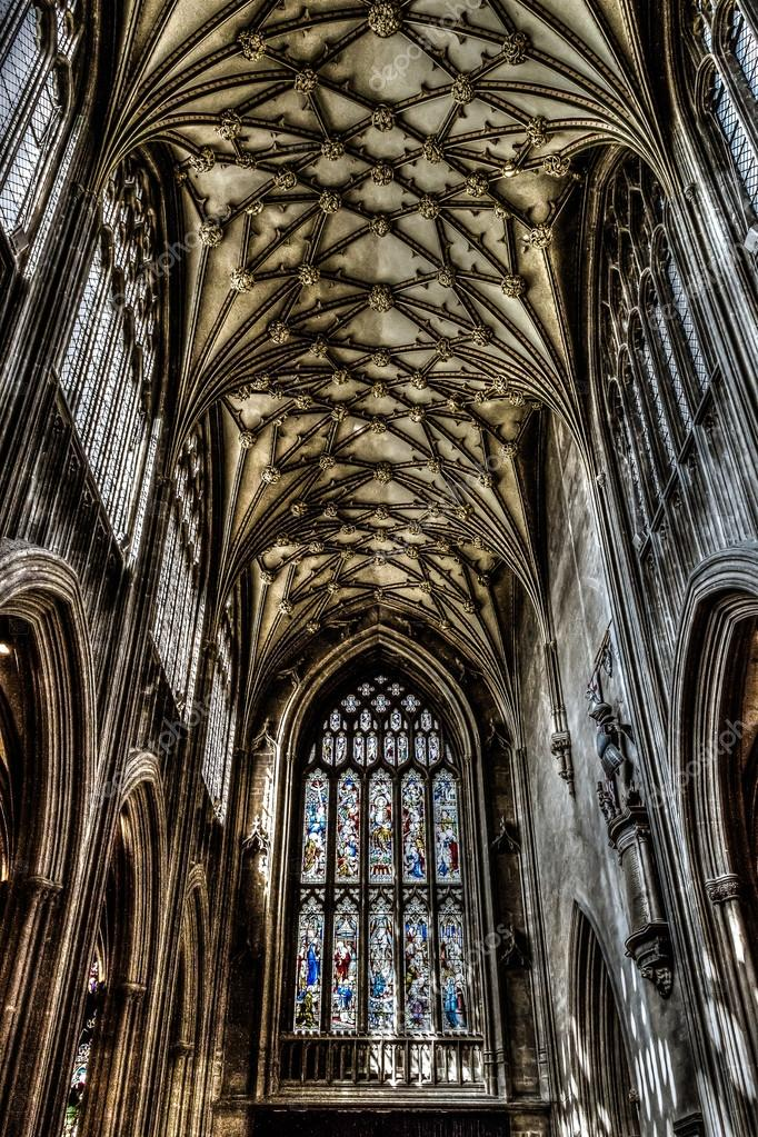 St Mary Redcliffe Bristol English Gothic Architecture Church Stock Photo