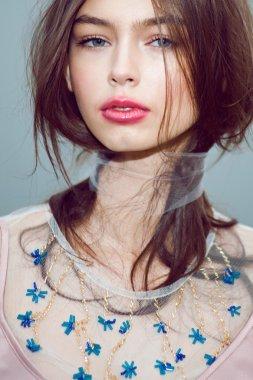 vogue fashion model portrait