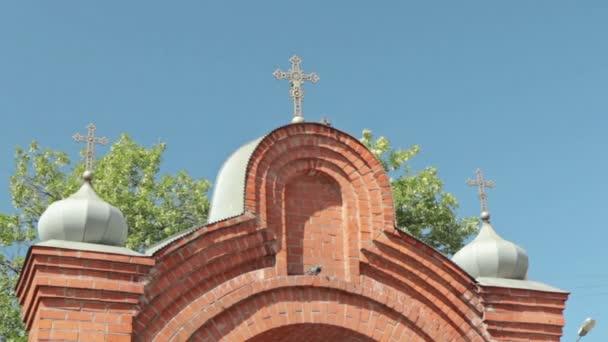 Tor zum spasso-Preobraschenski-Kathedrale in der Stadt Nischni Nowgorod