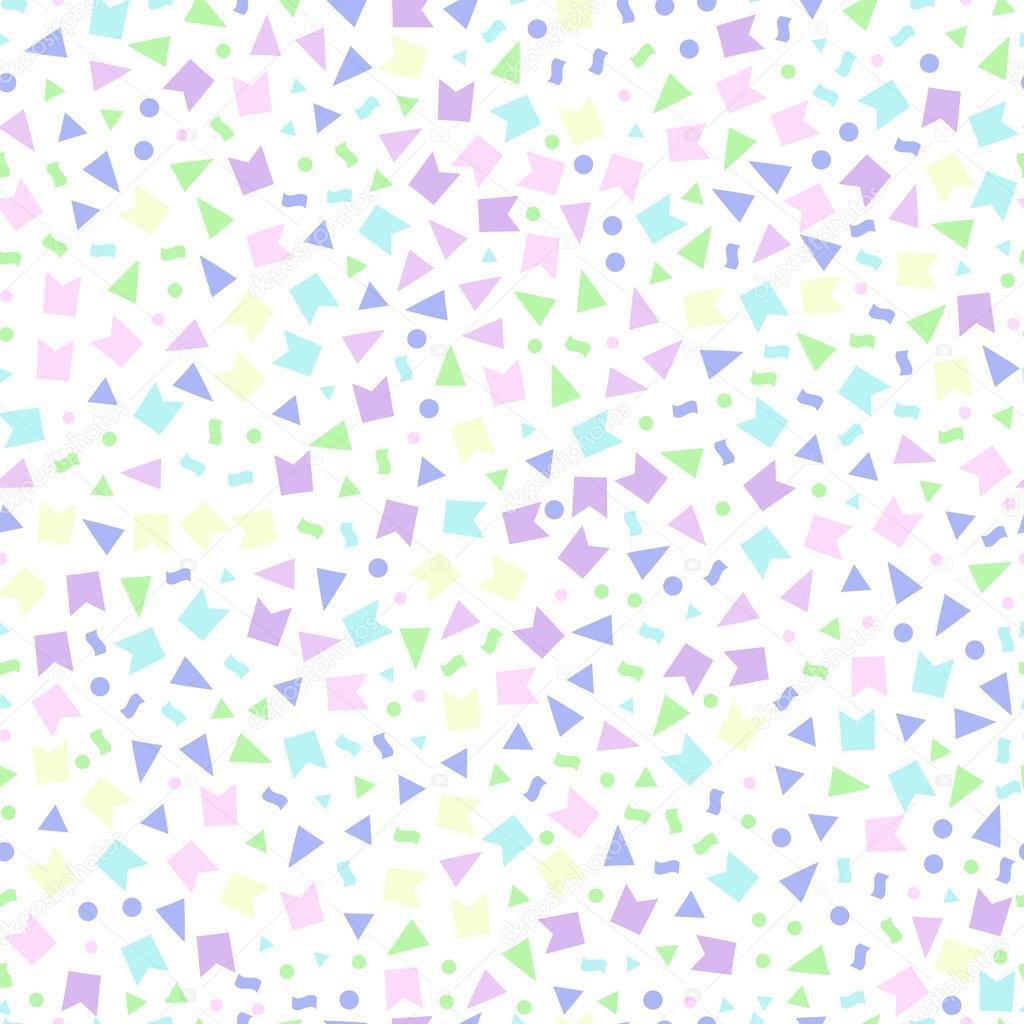 triángulos de patrones sin fisuras banderas puntos — Archivo ...