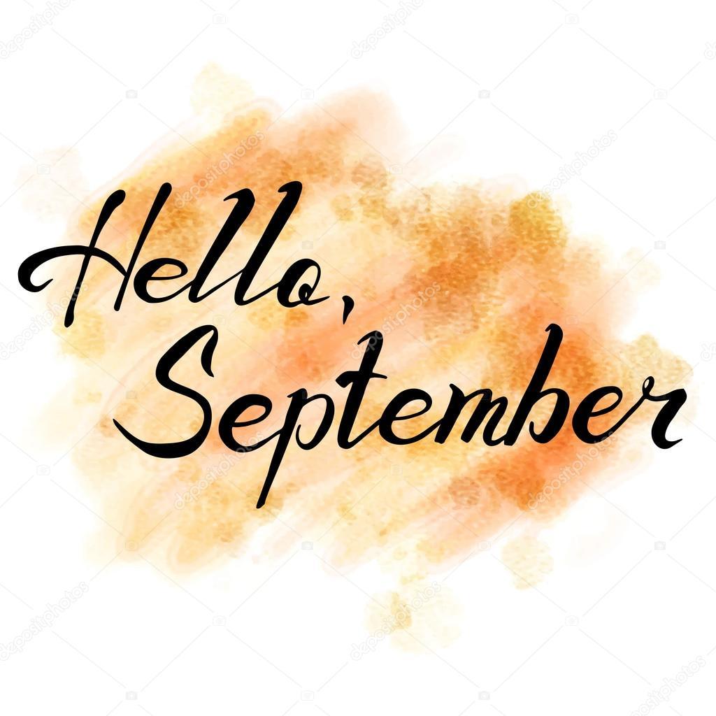 hallo september hand getekend van letters voorzien elk clip art png elk clip art black white
