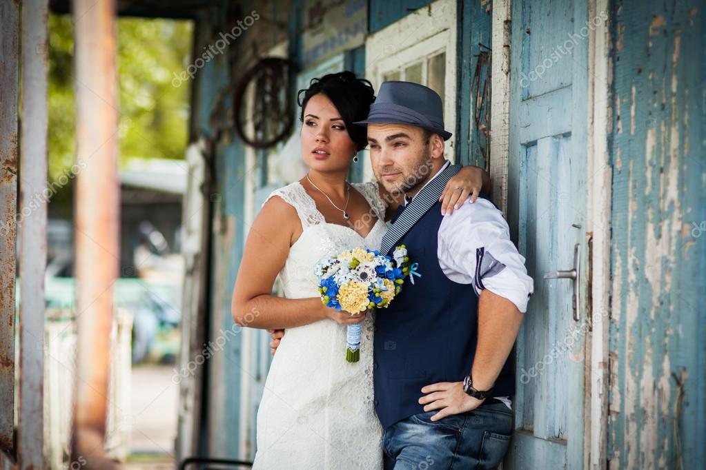 Hochzeit Hut Stil Alte Stockfoto C Lobodaphoto 70381907
