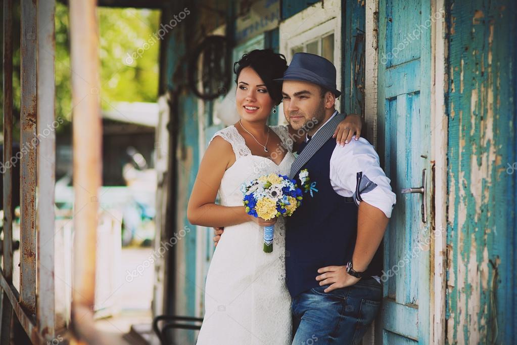 Brautigam Hochzeit Hut Stockfoto C Lobodaphoto 70381939