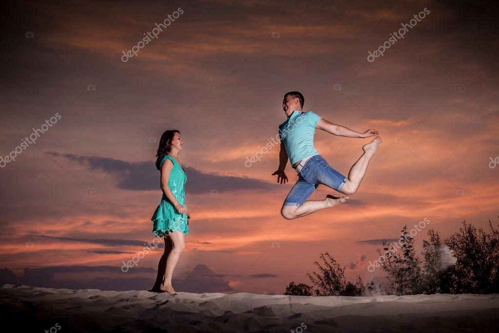 ballet, couple, nature, dancing