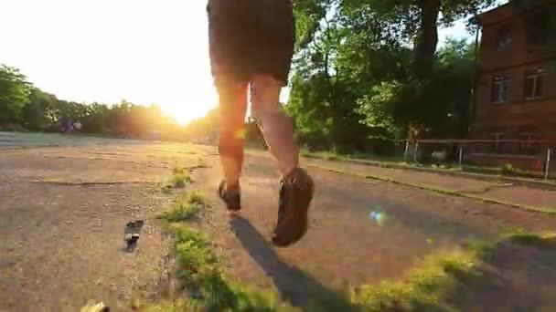 jogging nohy