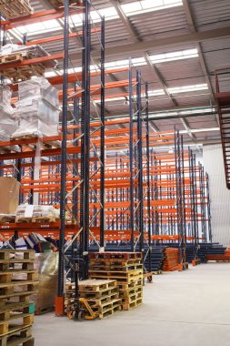 warehouse shelving