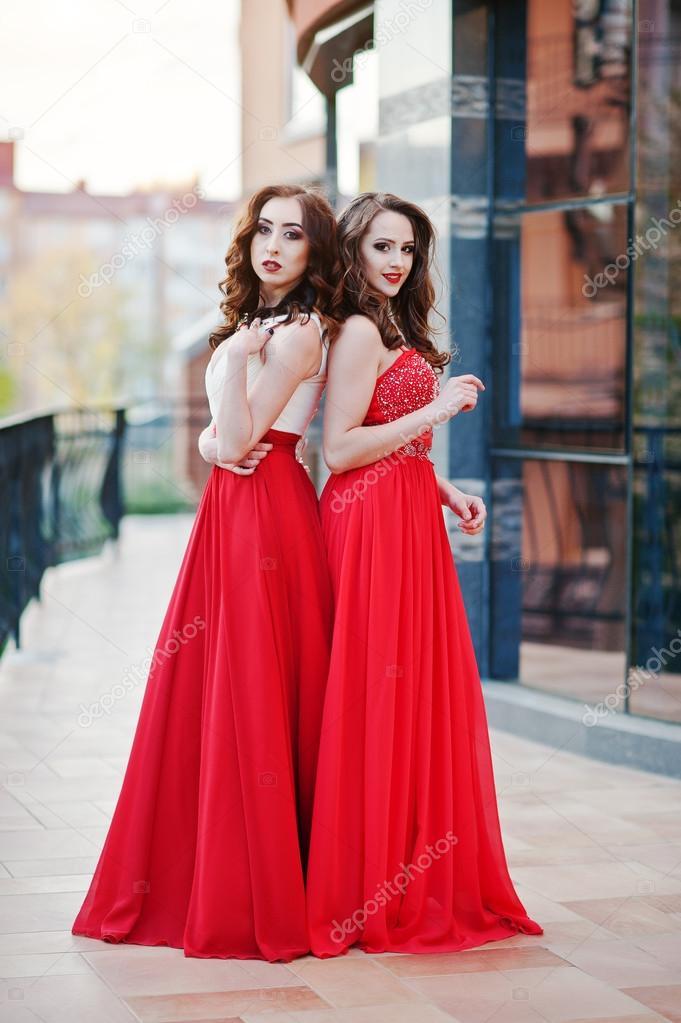 Fotos de chicas con vestidos de noche