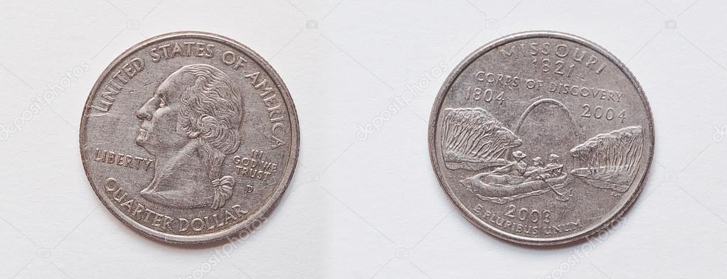 Satz Von 25 Cent Oder 2003 Usa Denver State Quarter Dollar Münze
