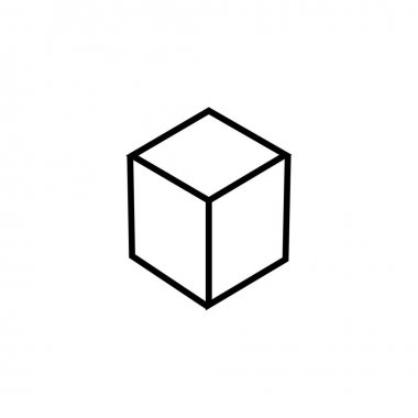 Box icon. Website delivery symbol. icon