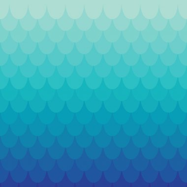 Background in squama or tile style. Vector colored seamless pattern clip art vector