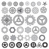 Photo Steampunk collection machine gears