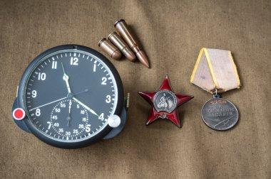 order, medal, live ammunition, aviation onboard watch