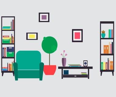 Home furniture. Interior design.
