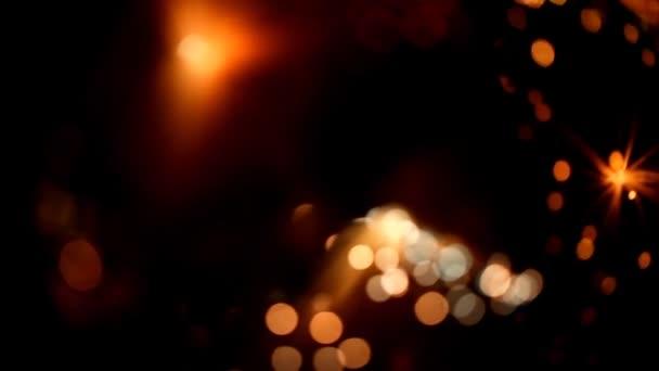 lehké abstraktní, kouzelné záře, pohyb