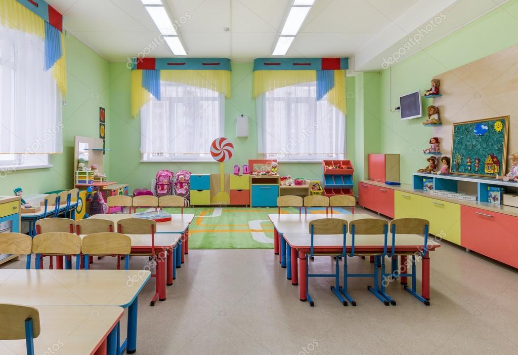 Aulas en jard n de infancia foto de stock kot36 73655669 - Tecnico jardin de infancia ...