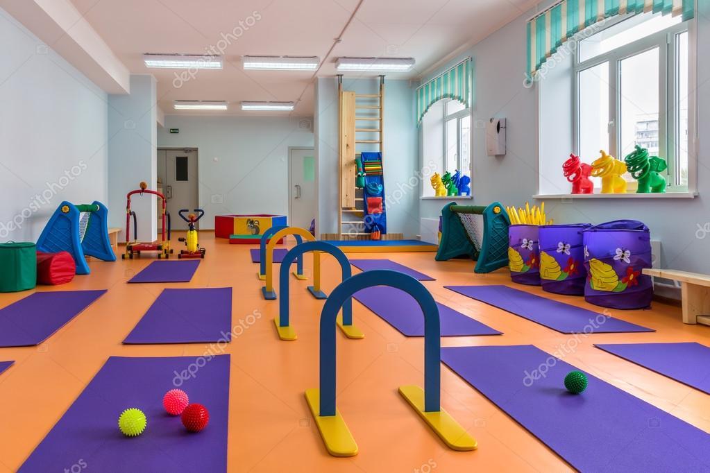 Тренажёрный зал для детей фото